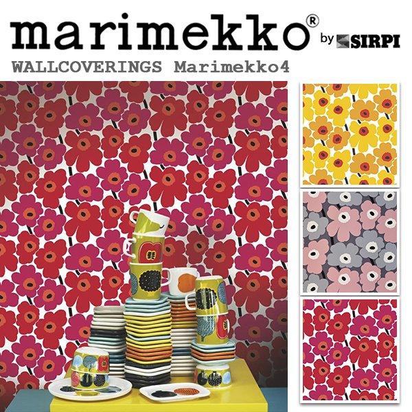 輸入壁紙/フィンランド(生産はイタリア)製/Marimekko4(マリメッコ4):marimekko(マリメッコ)メーカー品番:17900,17901,17904,/PIENI UNIKKO(ピエニ ウニッコ)/1ロール(巾53cmX10.05m)単位販売/不織布