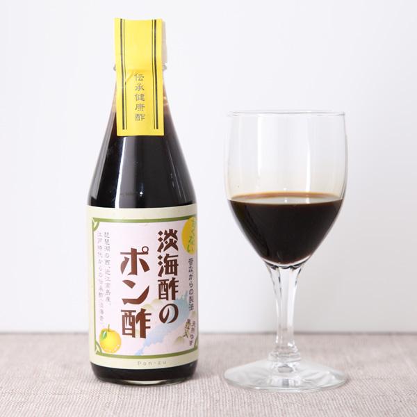 近江高島のこだわりと伝統の酢 湖西発 淡海酢のポン酢 300ml 日本産 推奨 有 淡海酢