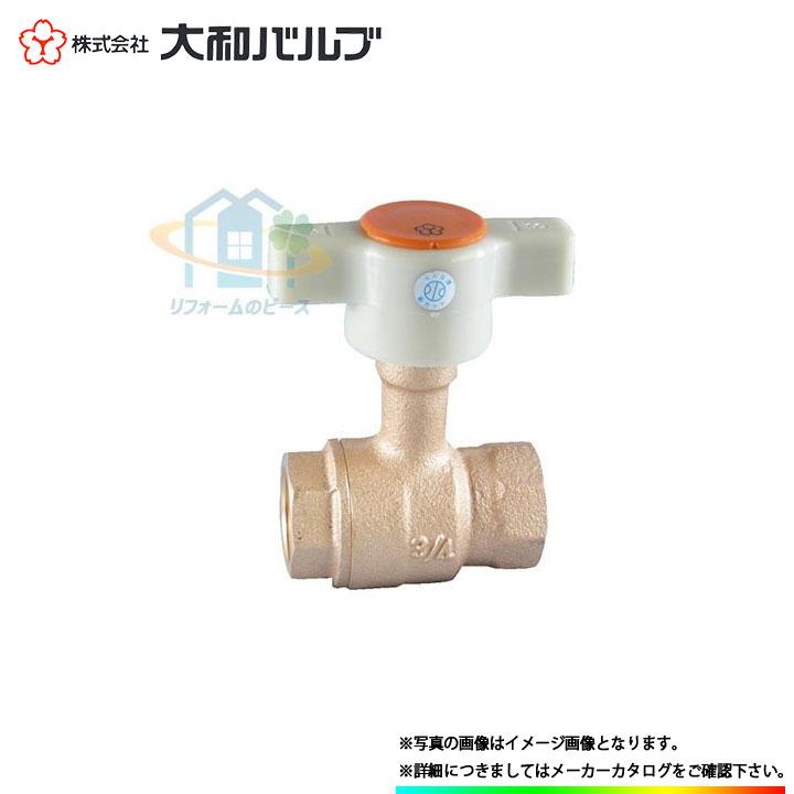 [VLPTSN 40A] 大和バルブ ボールバルブ 鉛レス 鉛カット 青銅バルブ 40A 10K ねじ込み Tハンドル
