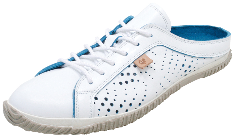 SPINGLE MOVE スピングルムーブ SPM-721 White/Blue スピングルムーブ SPM-721 white / blue leather sneakers SPINGLE MOVE