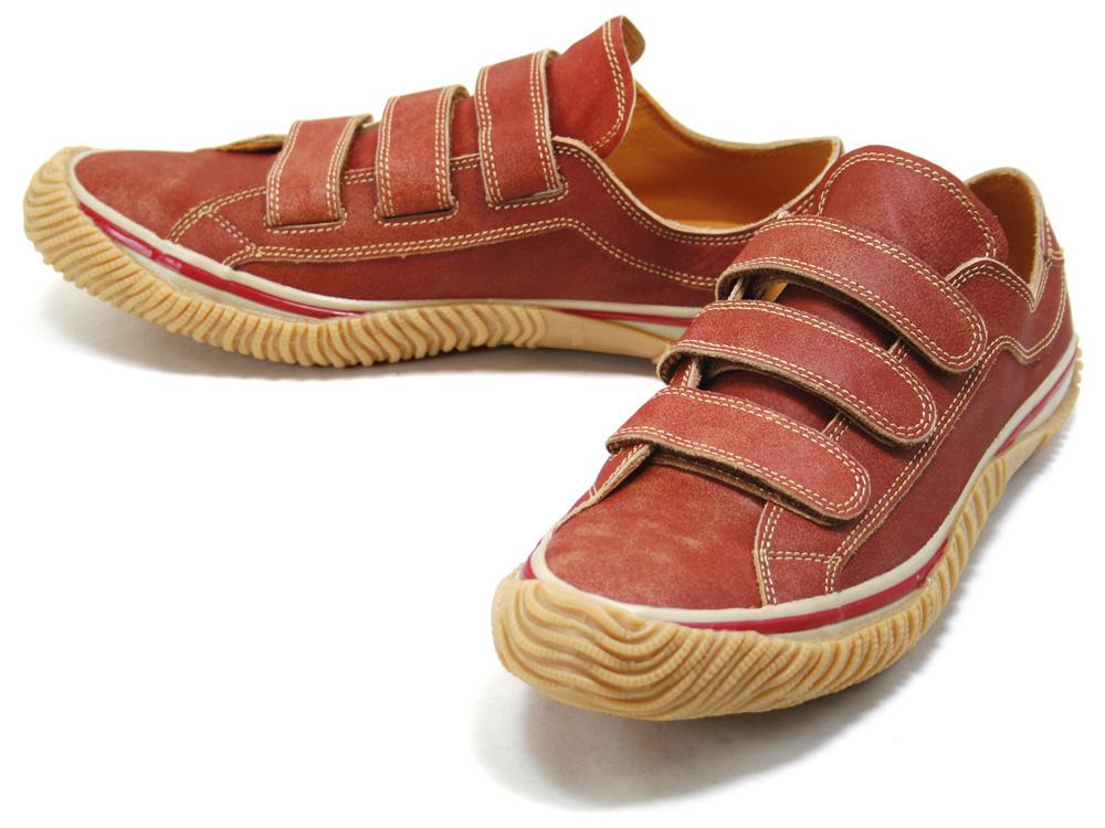 スピングルムーブ SPINGLE MOVE SPM-211 RED スピングルムーブ SPM211 red leather sneakers SPINGLE MOVE spingle move