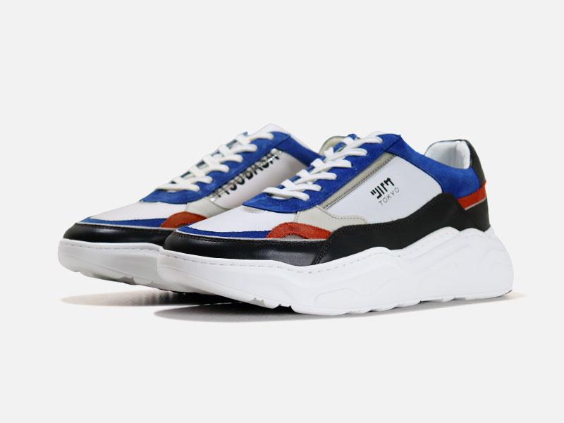 メンズ シューズ 靴 スニーカー +TSUBASA 全商品オープニング価格 プラスツバサ ドキドキ 新作続 送料無料 8006 DOKI-DOKI グレイ サイズ交換可