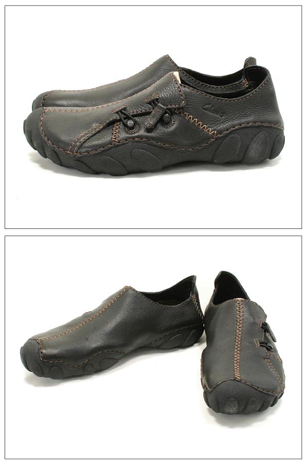 Clarks克拉克運動鞋MOMO SPIRIT 2 BLACK LEATHER