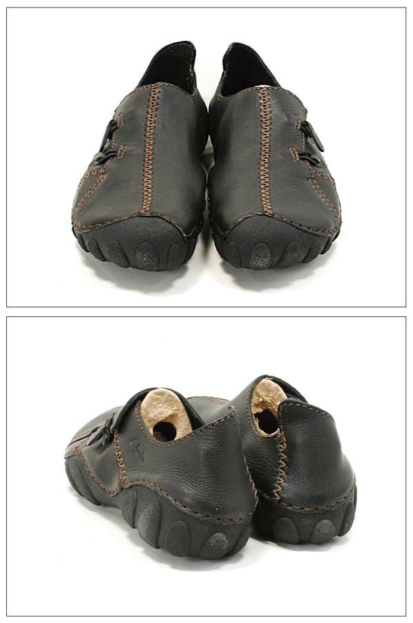 Clarks克拉克运动鞋MOMO SPIRIT 2 BLACK LEATHER
