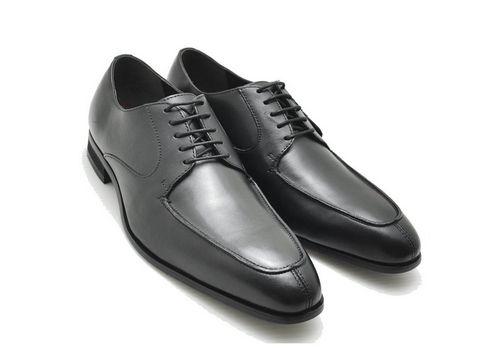 マドラス madras DS4103 MDL4103 メンズ ビジネス シューズ ロングノーズ ユーチップ 外羽 ブラック 靴