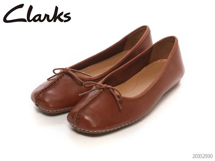 CLARKS クラークス Freckle Ice Dark 市販 20352930 新品■送料無料■ Tab Leather シューズ レディース