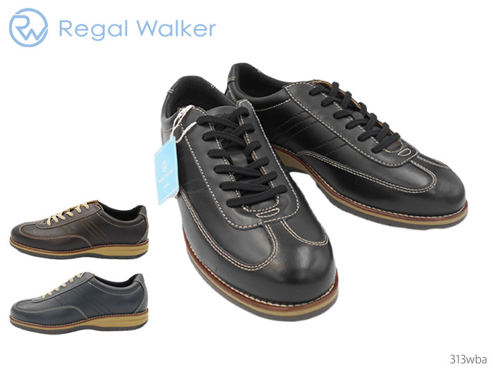 Regal Walker 313WBA ウォーキングシューズ リーガル REGAL 313WBA 313W BA リーガルウォーカー リーガルウォーカー レースアップ 牛革 3E 靴 正規品 メンズ