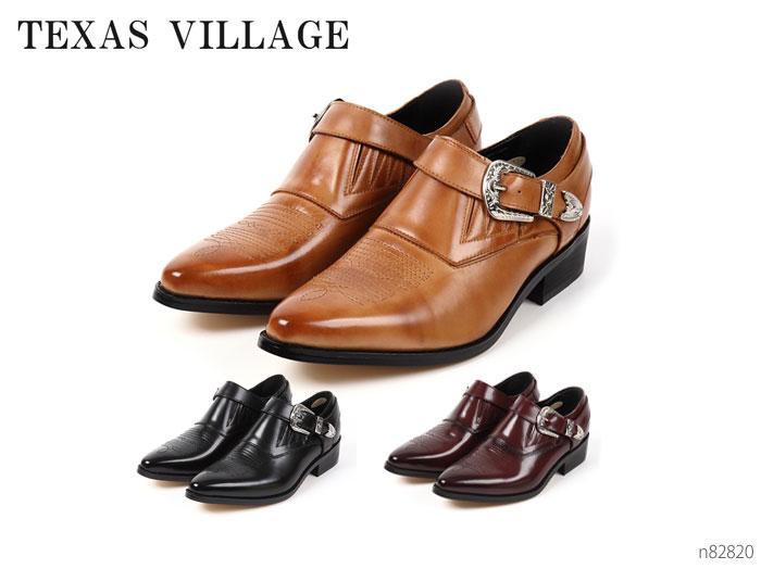TEXAS VILLAGE テキサスヴィレッジ N82820 ウェスタンブーツ メンズ 靴