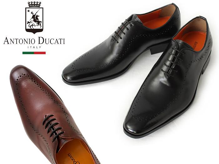 アントニオドゥカティ DC1174 内羽根メダリオン ビジネスシューズ 靴 メンズ