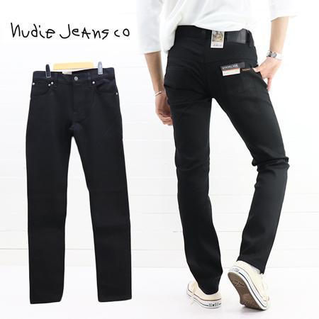 ≪30%OFF&送料無料≫再値下げ Nudie Jeans MENS THIN FINN SLIM SKINNY DRY EVER BLACK 48161-1086 / ヌーディージーンズ メンズ シンフィン スリムスキニー ドライ エバーブラック 48161-1086