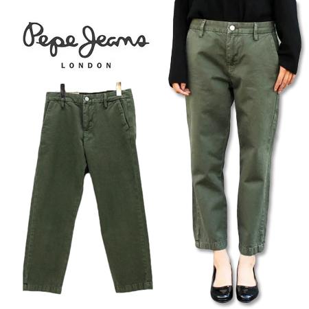 ≪送料無料≫Pepe Jeans LADIES ANKLE CHINO STRAIGHT PL210985 / ペペジーンズ レディース アンクル チノ ストレート PL210985