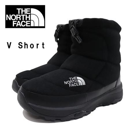 ≪SALE&送料無料≫THE NORTH FACE Nuptse Bootie Wool V Short NF51979 / ザ ノースフェイス メンズ レディース スノーブーツ ヌプシ ブーティ ウール 5 ショート NF51979 THERMOLITE