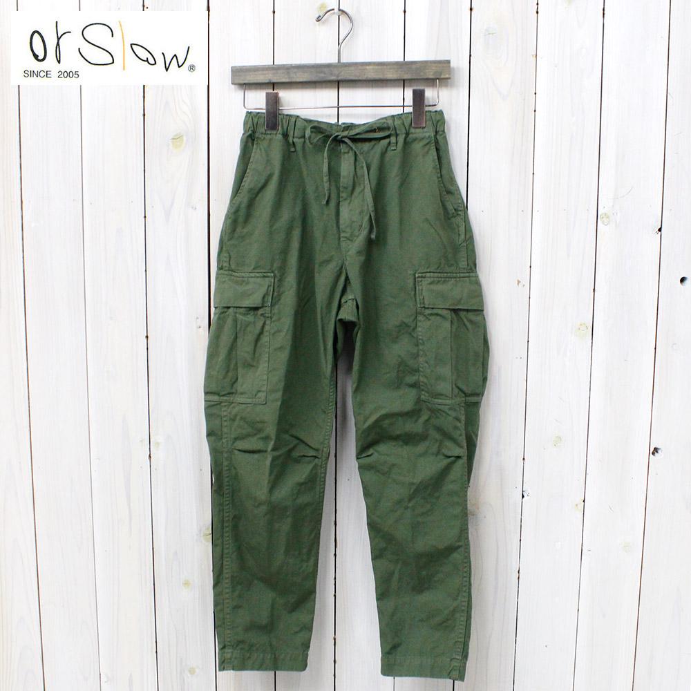 "orSlow (斯洛)""方便褲""(綠色)"
