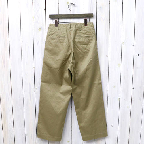 "orSlow(或低下)""VINTAGE FIT ARMY TROUSER""(KHAKI)"