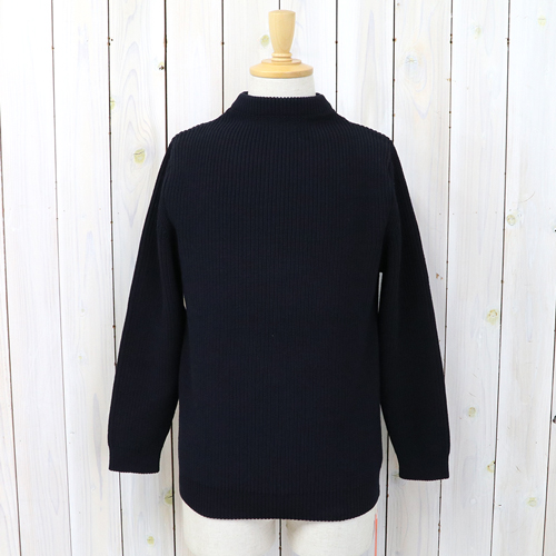 "ANDERSEN-ANDERSEN(安徒生-安徒生)""COTTON CREWNECK""(Navy Blue)"