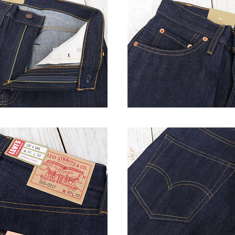 "LEVI'S VINTAGE CLOTHING(李維斯復古閉上)""505 1967""(Rigid)"