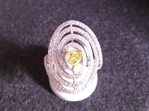 Pt900プラチナ ダイヤモンド合計0.507ct  レディース 指輪(リング)