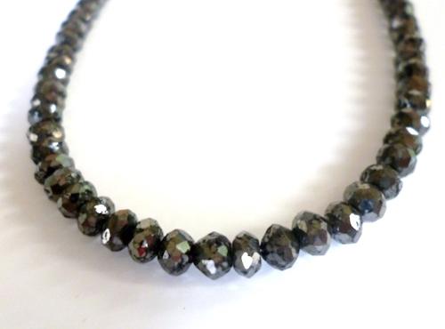 50ctブラックダイヤモンドネックレス