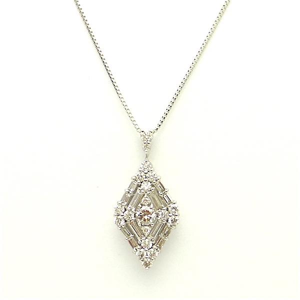 ダイヤモンド プラチナ ペンダントネックレス