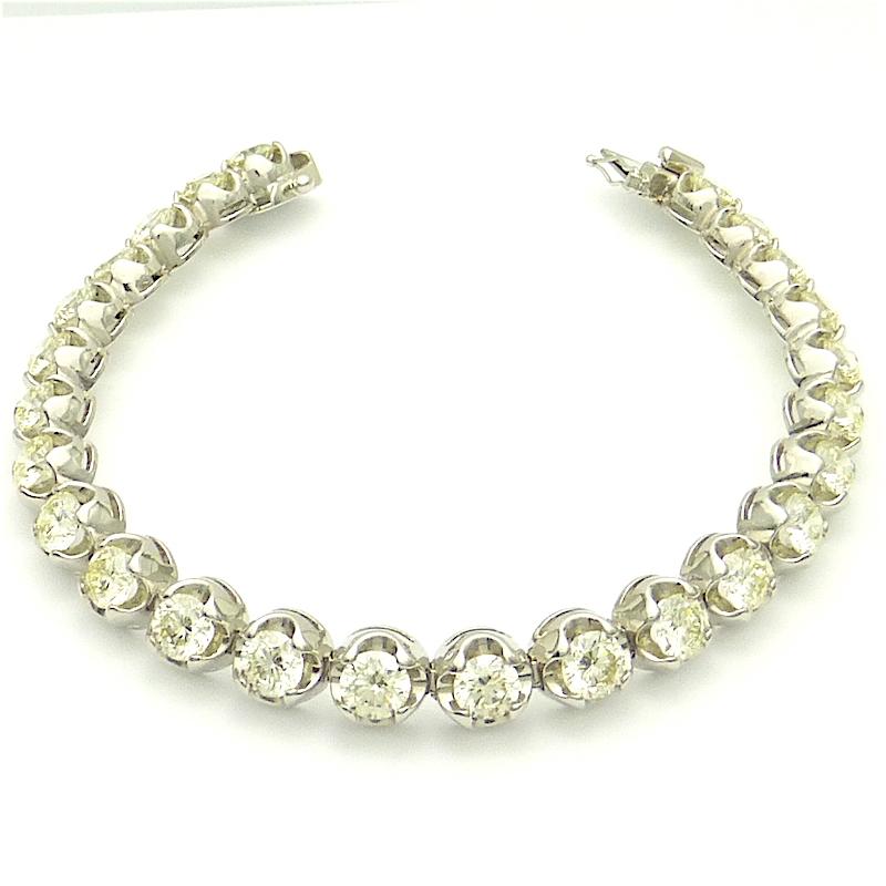 10カラット ダイヤモンド10.00ct PTプラチナ ブレスレット