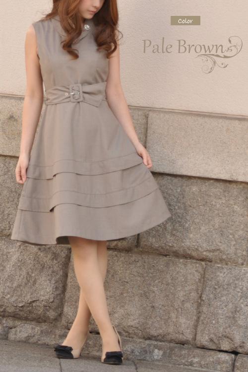 ☆★ レジーナリスレ ☆ home cleaning OK ☆ Lady's / refined / no sleeve / knee-length / knee length / flare 02P01Mar15 where thank you sold out