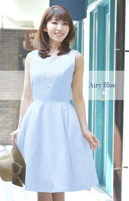 08-i16016 Regina Risurre【Tack Cherie Onepiece】flare dress