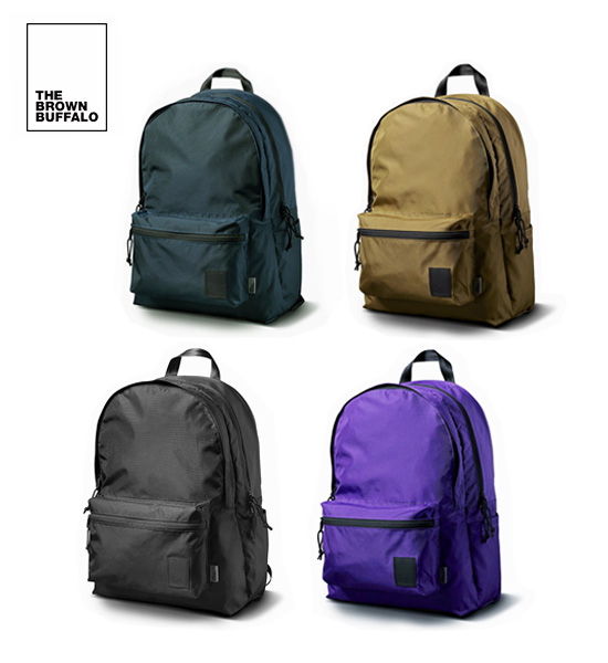 THE BROWN BUFFALO(ザ・ブラウンバッファロー)STANDARD ISSUE BACKPACK スタンダードバックパック
