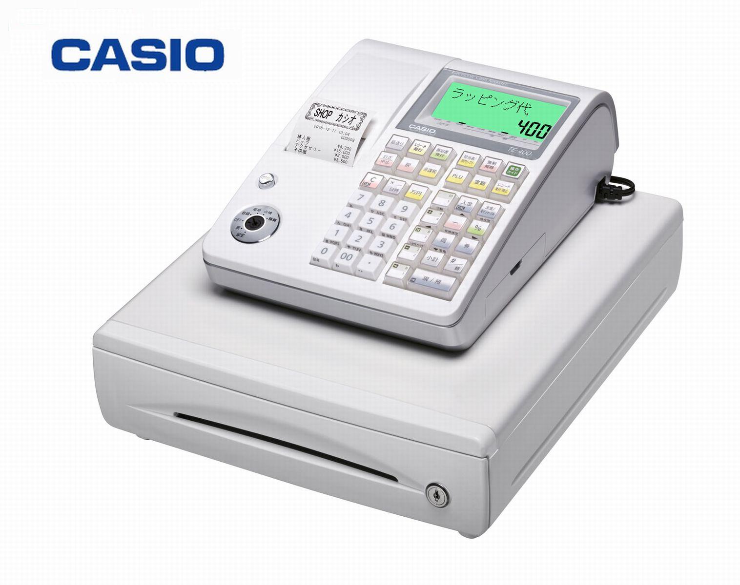 カシオ 電子レジスター TE-400[CASIO TE-400]