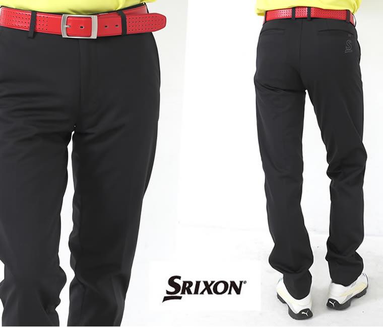 スリクソン<SRIXON>ストレッチゴルフパンツ(ブラック)