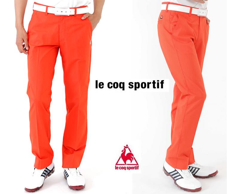 ルコック ゴルフパンツ<Ie coq sportif>オレンジ
