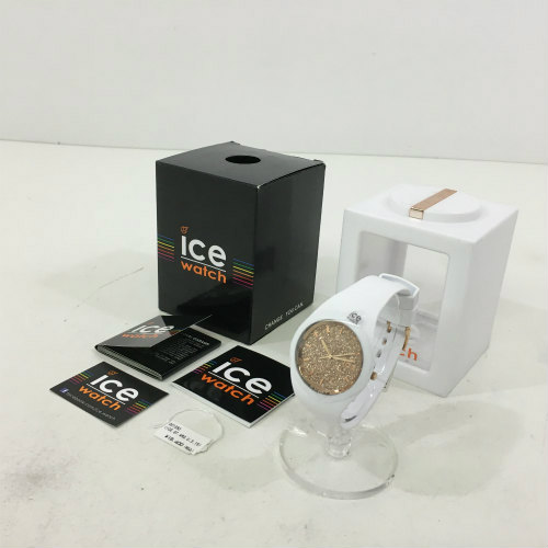 中古 ICE WATCH アイスウォッチ ICE-001350 グリッター ホワイト 管159 hh- 腕時計 ローズゴールド 販売期間 限定のお得なタイムセール 直営ストア