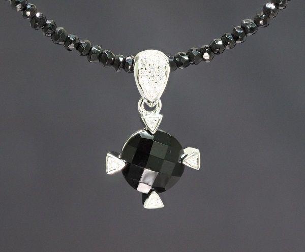 ブラックスピネルネックレス メンズネックレス 天然石ネックレス 天然石 ネックレス スピネルチェーン ネックレス ブラックスピネル ネックレス 大粒 パワーストーン 送料無料 アジャスター付き
