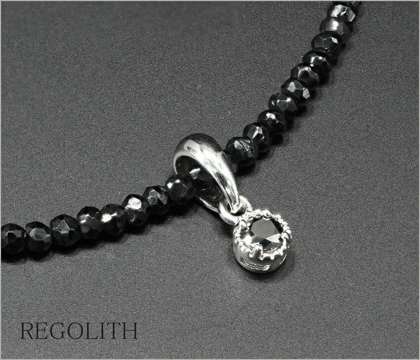 ブラックダイヤモンド ネックレス ダイヤモンド ネックレス ブラックダイヤ ネックレス メンズ ネックレス 男性 ネックレス Bタイプ 送料無料 プレゼントBOX無料 ss