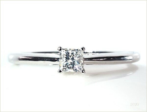 ダイヤモンドリング 18KWG 18金 リング 指輪 レディースリング ダイヤモンド NO.1020 R ss