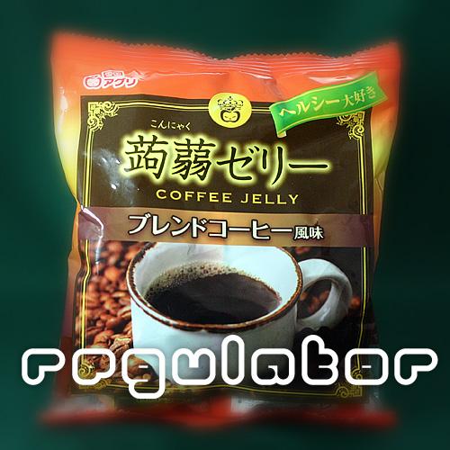 Konnyaku jelly blend coffee flavor 12 pieces