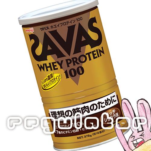 《まとめ買い/ケース販売》【SAVAS】(送料無料)ザバス ホエイプロテイン100 リッチショコラ味 (約18食分 378g)×10 zavas