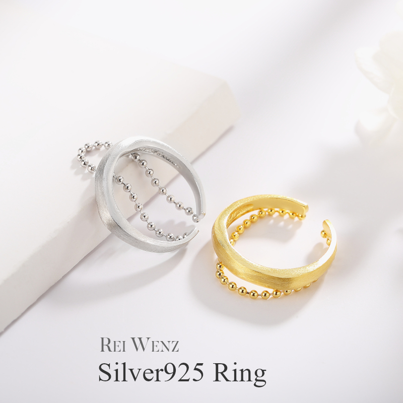2 988円 人気ブランド多数対象 40%OFFクーポンご利用で Silver925 送料無料 フリーサイズ silver925 シルバー リング 指輪 一部予約 プレゼント おしゃれ レイヤード 太 ボールド 幅広 デザインリング 幅太 レディース