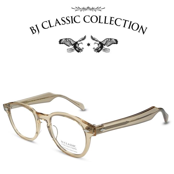 BJ 送料込 CLASSIC COLLECTION正規取扱店 メーカー在庫限り品 COLLECTION REVIVAL EDITION JAZZ C-138 クリアベージュ 本格眼鏡 ビルエヴァンス リバイバルエディション BJクラシックコレクション メンズ 度付きメガネ 伊達メガネ ジャズ レディース