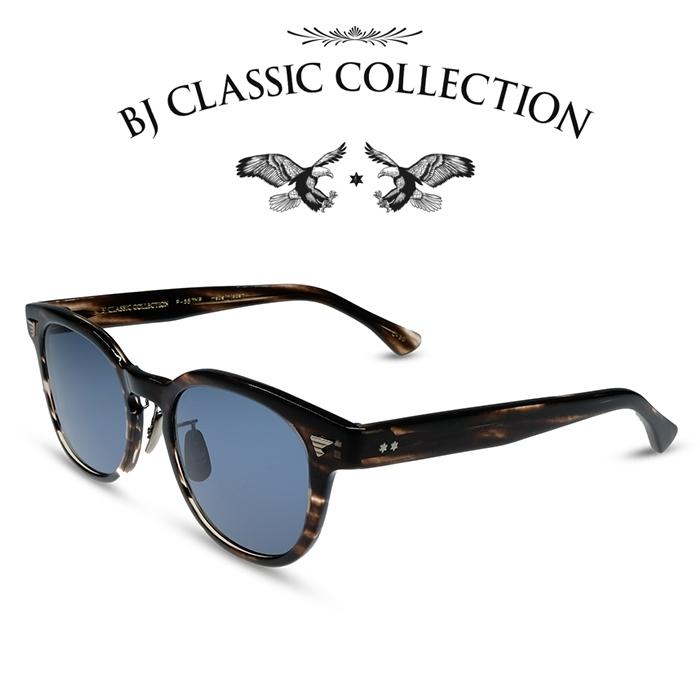 ポイント5倍BJ CLASSIC COLLECTION BJクラシックコレクション サングラス P 557MP C 30 クロササ ブルー メンズ レディースvN8PywOmn0