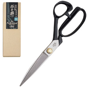 【お取り寄せ商品】Cloverクロバー布切りはさみ「プロ仕様」柄左手用(24cm)最高級の刃物鋼/柄部分のみを左手用にして持ちやすくしました。