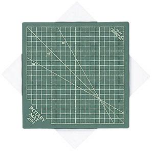●メーカー取寄品●[西濃便][5個パック]ロータリーマット200 本体220×220×5mm /まとめ買いクロバー製品