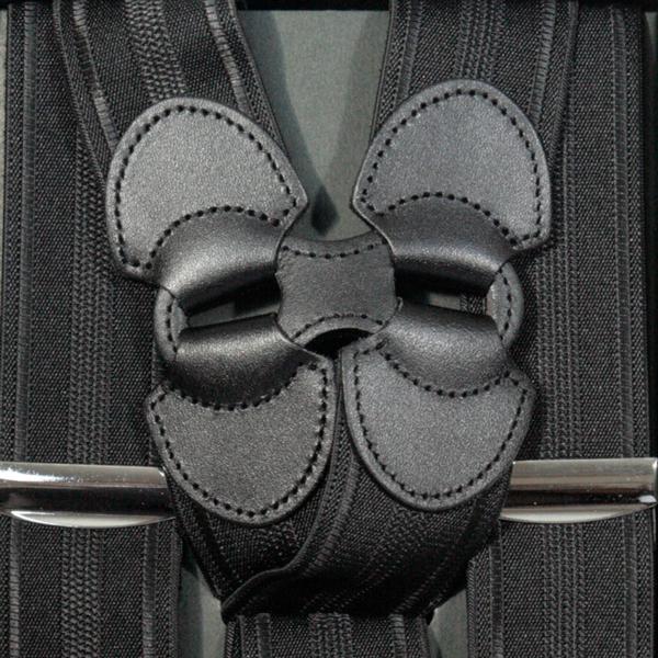サスペンダー メンズ | Taniwatari タニワタリ ブランド 日本製 ホルスター ホルスター型 サイド吊り ガンタイプ 2点留め ブラック 黒 ネイビー 紺 シャドーストライプ 35mm スーツ パンツ スラックス 金具 クリップ ズボン吊り 送料無料 S4468-1 S4468-2