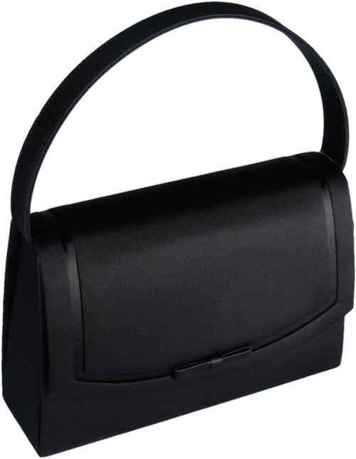 【送料無料】ブラックフォーマルバッグ黒は織り生地製で高品質な日本製の慶弔、仏事、入園式、入学式、卒業式に最適なカバンです フォーマルバッグ レディース ブラック 布 布製 岩佐 冠婚葬祭 弔事 7-B8355