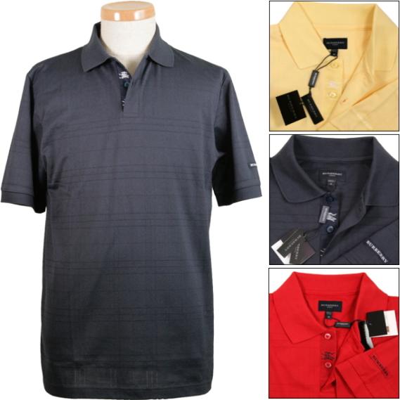 Gentleman short sleeves polo shirt ☆ burberry golf SPRING SUMMER