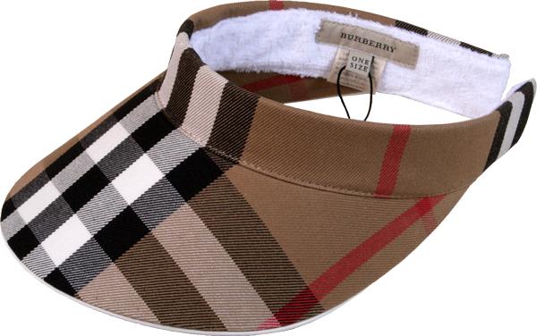 reisouclub  Ladies visor Hat ☆ Burberry Golf SPRING SUMMER 2009 ... a86cdcf3c9ed
