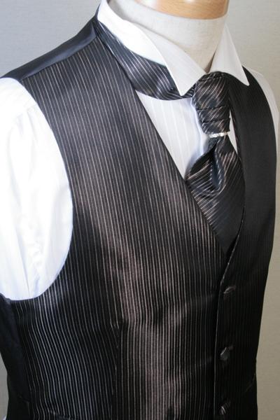 フォーマル リング フォーマルベスト&アスコットタイセット(スカーフリング付) 衣装 結婚式 アスコット VE41-AS41【送料無料】【日本製】 着こなし ベスト セット コーデ ウエストコート ジレ チョッキ