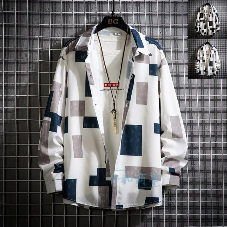 シャツ メンズ オンラインショッピング 長袖 チェック柄シャツ カジュアル おしゃれ 秋物 今ダケ送料無料 大きいサイズ