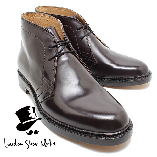 London Shoe Make 502 グッドイヤー製法チャッカブーツ ブラウン ビジネスシューズ ビジネス/ドレス/紐靴/革靴/仕事用/メンズ