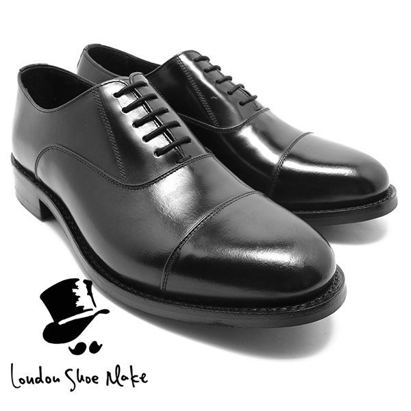 Relaaax | Rakuten Global Market: / men for the feather straight tip shoes black genuine leather business shoes business / dress / string shoes / leather shoes / work in London Shoe Make/Oxford & Derby 8001 Goodyear