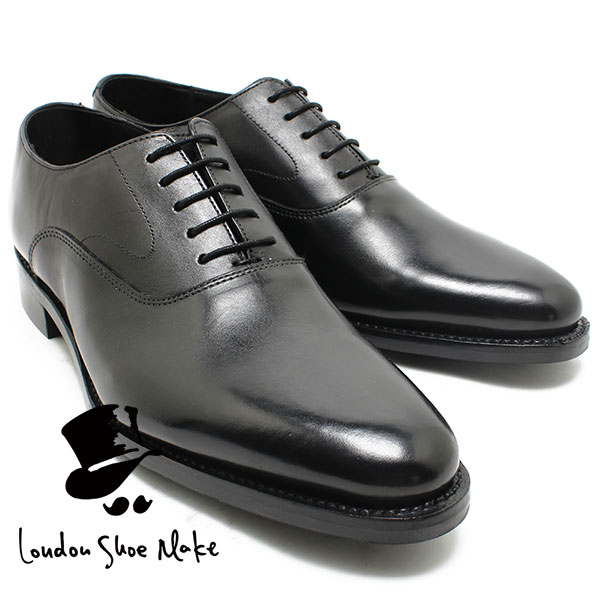 オックスフォードアンドダービー/Oxford & Derby 8015 グッドイヤー内羽プレーントゥ ブラック 本革ビジネスシューズ ビジネス/ドレス/紐靴/革靴/仕事用/メンズ